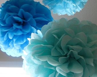 15 Pom Poms - Your Color Choice- SALE
