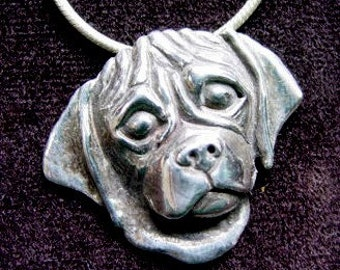 Adorable Puggle Pendant or Necklace