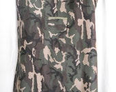 Woodland camo cotton bedgown