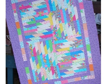 Quilt Patterns - Delectable Cabin Cakes Layer Cake Quilt Pattern - HARD COPY VERSION