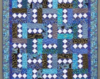 Quilt Pattern PDF  INSTANT DOWNLOAD - Modern Quilt - Sizes Crib to King - City Lights