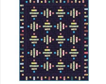 Quilt Pattern - Zen Garden Jelly Roll Pattern 73 x 87 inches