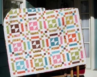 Quilt Pattern - Butterfly Fancys EASY Layer Cake Quilt PaTTerN - Throw Size