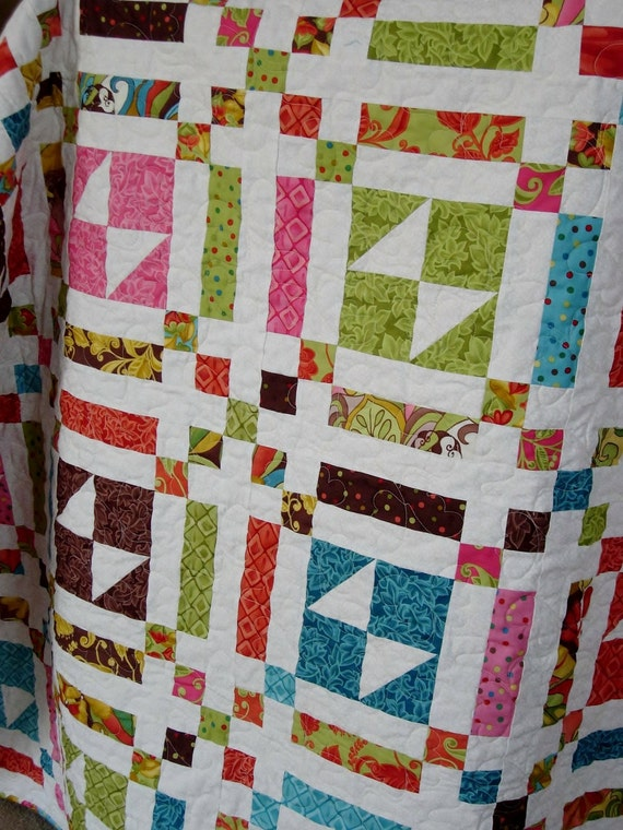Layer Cake Quilt Definition : Easy PDF INSTANT DOWNLOAD Layer Cake Quilt Pattern