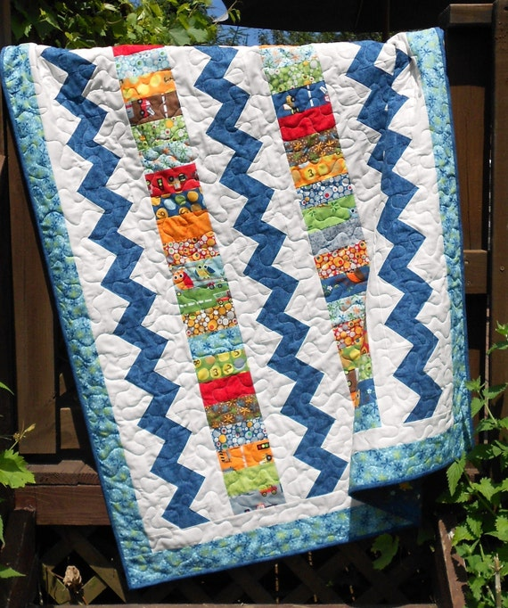 Quilt Pattern PDF INSTANT DOWNLOAD - Charm Pack, Jelly Roll, Layer Cake -  Throw / Crib or Twin - Coin Collector -