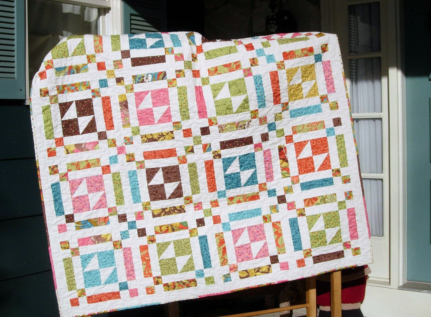 Layer Cake Quilt Pattern Butterfly Fancy S Throw Size