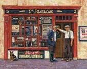 Color Print of Oil Painting, Irish Scene 16, Ireland