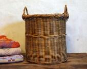 Hamper - Vintage European Woven Basket
