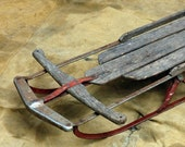 Antique Snow Sled // Up and Down the Hill