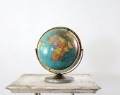 1960s Globe // Scholastic 12 inch World Globe
