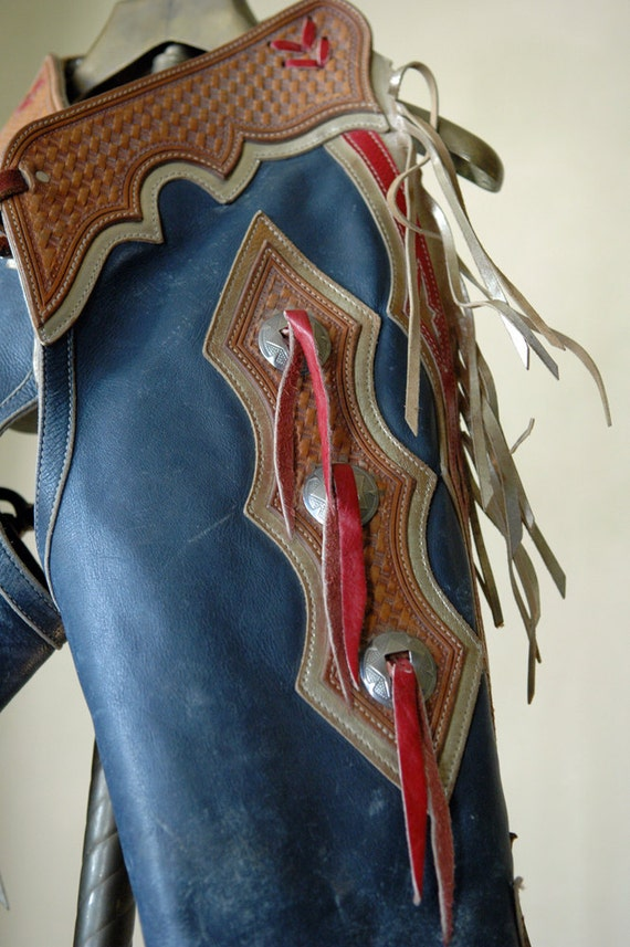 1960s Vintage American Western Chaps Wild West