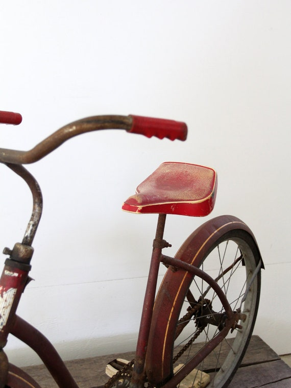 1950s Roadmaster Bicycle / Vintage Children's Bike