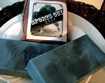 MENS SOAP, Bar Style Soap, Dirty Boy Soap, For some men, it's all about their balls... Innuendo Fun, Sports Guy Soap, For Him, Father's Day
