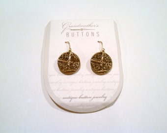 Grandmother's Buttons - Earrings