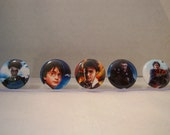 Harry Potter characters Magnet Set of 5