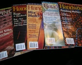 5 Back Issues Handwoven  & Spin Off Magazines