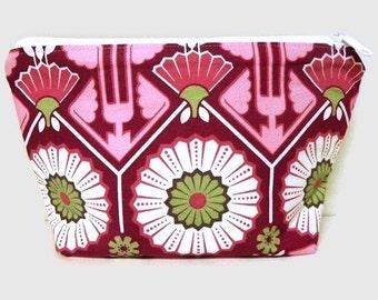 Large zipper Cosmetic Pouch-Joel Dewberry