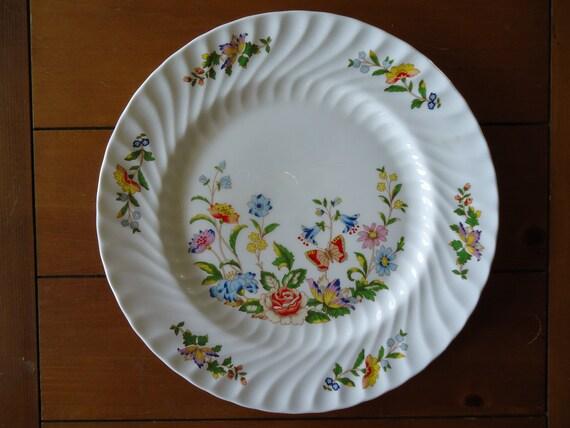 Aynsley Fine Bone China Plate English Garden