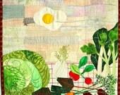 Art Quilt - Yummy landscape