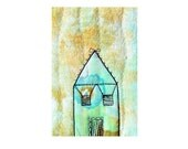 Art card - Teal House