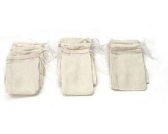 5 3x5 cloth tea bags