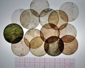 Natural Mica Circles approx. 2in
