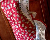 Christmas Cookie Full Petal Apron with Oven Mitt