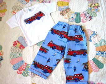 Fire Engine Lounge Set size 18 months
