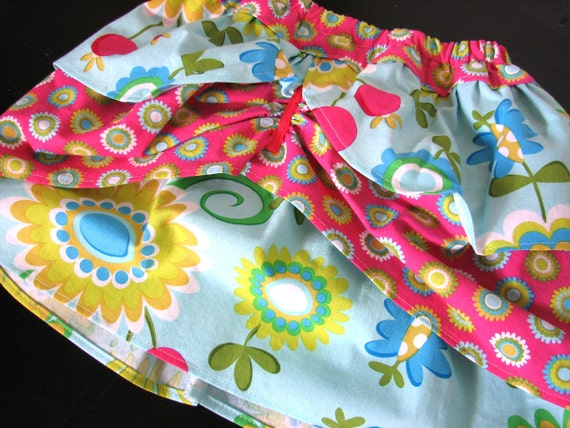 Tiered Ruffle Skirt Toddler Size 2T