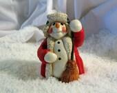 Basil---Snowman with Broom.