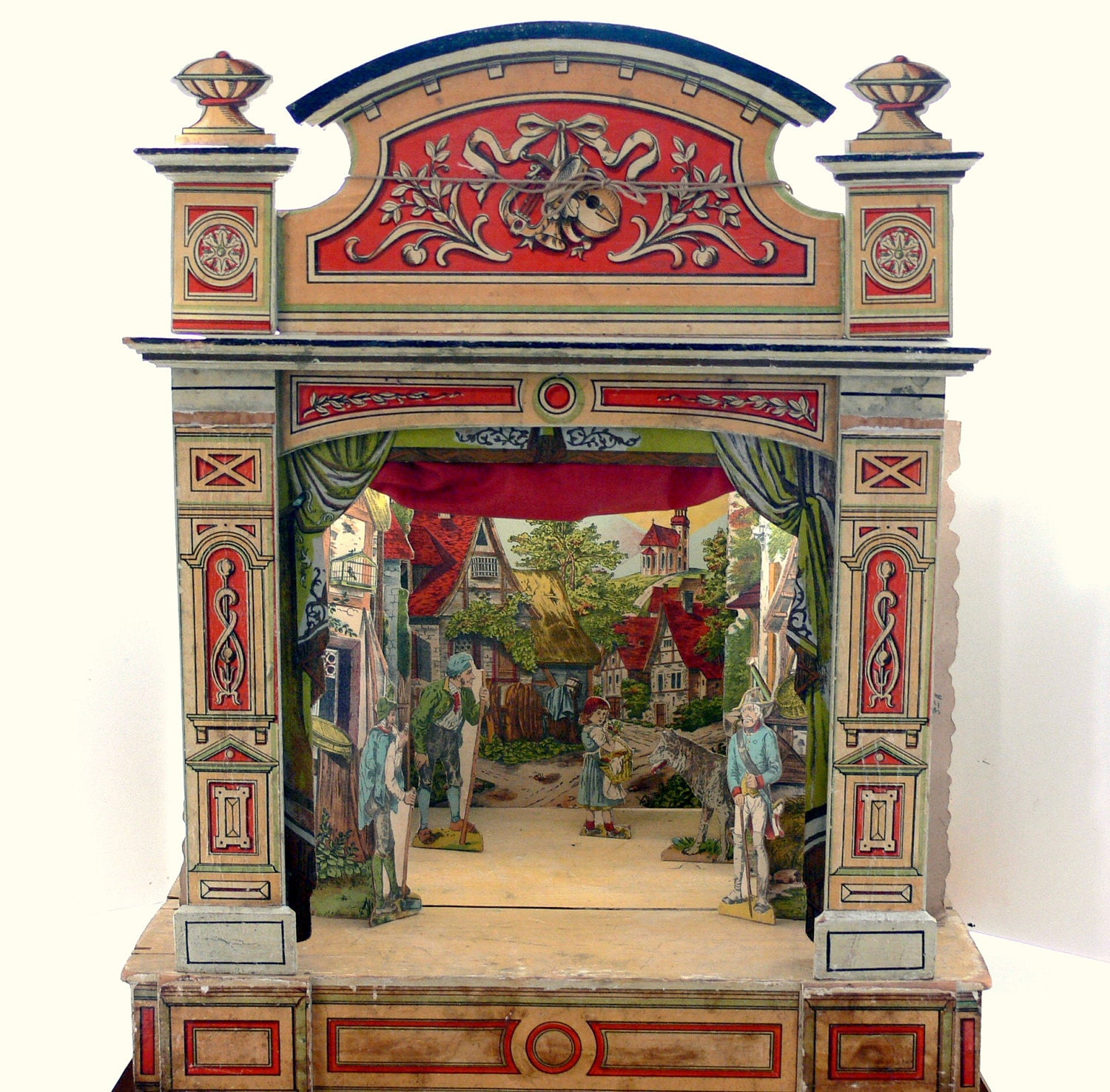 RESERVE for Wendy: Antique Toy Theatre / Schreiber Paper