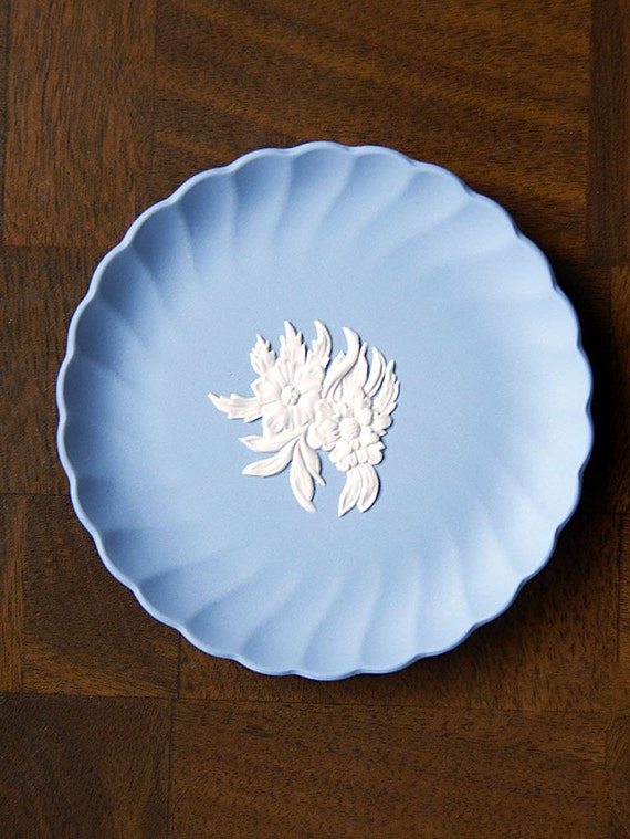 Little Wedgwood Blue Jasperware Dish -Mint