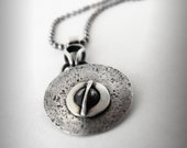 Industrial Necklace - Sterling Silver - Screw - Unisex