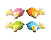 Birds of Fancy Edible Sugars for Decorating Cakes and Cupcakes (24 count)