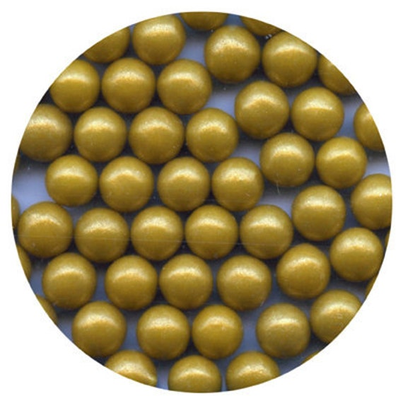 Cake Decorating Gold Pearls : Unavailable Listing on Etsy
