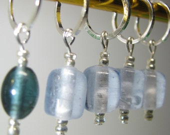Snag Free Stitch Markers - Set of five