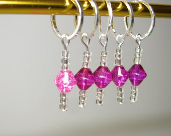 Snag Free Stitch Markers - Set of 5