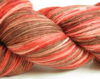 Yummy Superwash Merino Hand Dyed Sock Yarn -  Indian Pottery