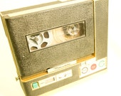 Vintage Gold and Black Miranda Mirandette Tape Recorder Reel to Reel