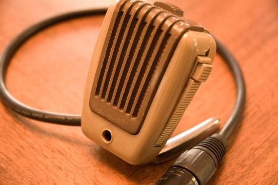 Funky CB Vintage Microphone