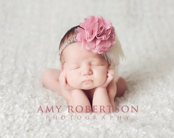 THE SOCIALITE Headband - Gorgeous - Preemie to Adult Sizes Available