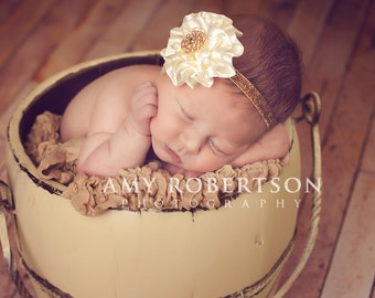 VINTAGE GLAM GOLD Edition - Preemie to Adult - Perfect for Any Occassion and Available in Silver