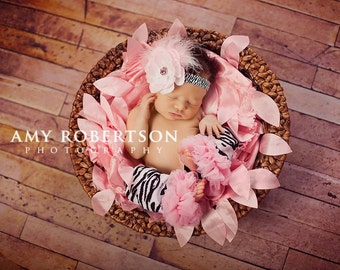 The LOVELY LITTLE ZEBRA Headband - Preemie to Adult Sizes Available