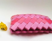 candy wrapper purse,pink make up bag
