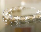 Stunning Sparkling Lemon Quartz Necklace