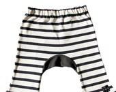"""Monkey pants """"black&white"""""""