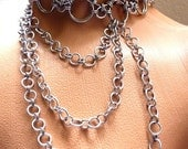 Large Choker with Chains