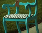 "Upcycled Vintage ""Bloom"" Armchair"