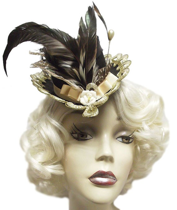 Romance Mini Victorian Steampunk Top Hat