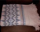 Swedish Weave Blanket IV - Valentines Day Sale ENDS 2/28